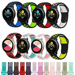 Sport Silicone Watch Band for Samsung Galaxy Watch 4 Classic 40/44/42/46mm Strap