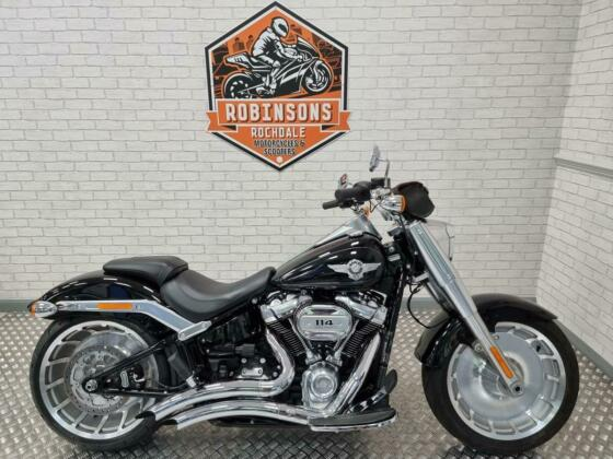 2018 68 reg Harley Davidson Fatboy with only 1743 miles.