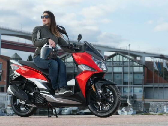 SYM JET 14 125 cc LC Automatic Scooter Moped Learner Legal Large Maxi 2021