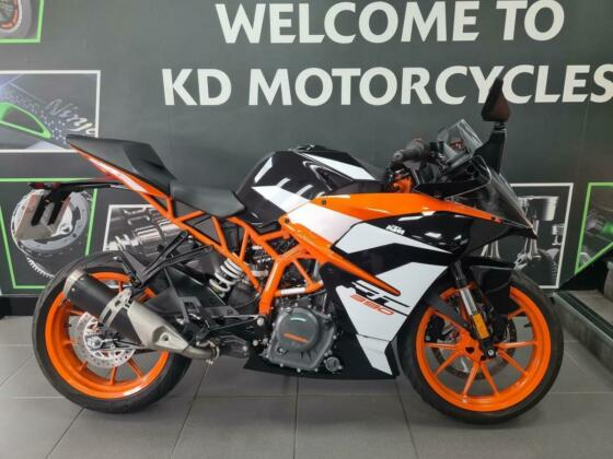 KTM RC 390 2020, 1 OWNER, ONLY 1450 MILES, FREE SERVICE + WARRANTY