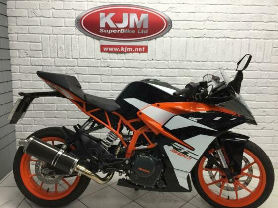 KTM RC390, 2018 BIKE, JUST 3,527 MILES, SPORTS CAN