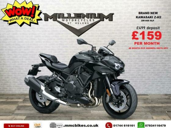 2021 PLATE KAWASAKI  ZH2 MY20 BRAND NEW UNREGISTERED WITH OVER £1200 OFF ON M...