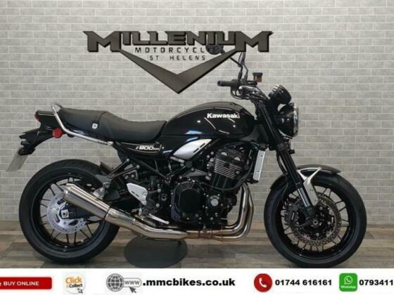 2020 (20) KAWASAKI Z900 RS FINISHED IN BLACK WITH 2123 MILES.