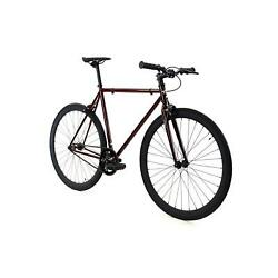 Golden Cycles Fixed Gear Single Speed Fixie 41-63cm REDRUM