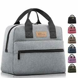 HOMESPON Insulated Lunch Bag Lunch Box Cooler Tote Box Cooler Bag Lunch Conta...