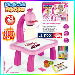 Kids Drawing Projector Table Projection Drawing Board Educational Drawing Toy PO