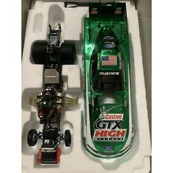 2011 John force color chrome funny car autographed RARE 1 OF 500 MINT CONDITION