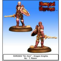 Fantization Rusted Heroes Dragon Knights Sir Zien Pack New