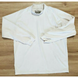 5.11 Tactical Series Mens Shirt Size Large Cold Weather Mock White