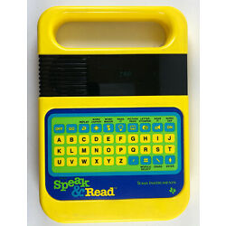 TEXAS INSTRUMENTS SPEAK AND READ ELECTRONIC LEARNING GAME TESTED WORKS