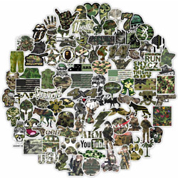 Soldier Army Military Graffiti Sticker Pack Car 50PCS Stickers Decals
