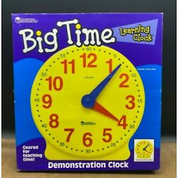 Big Time Student Learning Clock by Learning Resources  Large 13''