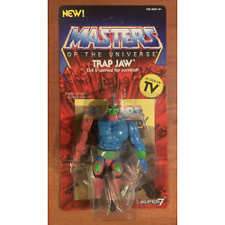 Super 7 MOTU Masters Of The Universe Trap Jaw Vintage Style 5.5  Filmation