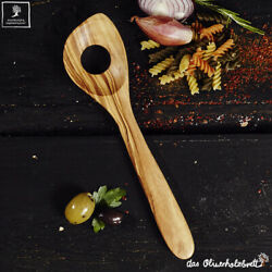Risotto Spoon Cooking Spoon from Olive Wood Spatula Classic Wood 9 13/16in