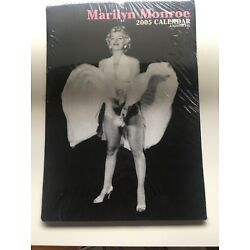Sealed 2005 Marilyn Monroe Calendar Unofficial Hollywood Collectable By Images
