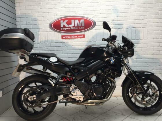 BMW F800R, 2013/63, JUST 7,394 MILES, LOTS OF EXTRAS AND IN SUPERB ORDER
