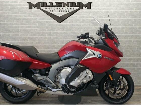 2018 (68) BMW K1600 GT5 FINISHED IN RED WITH 13264 MILES