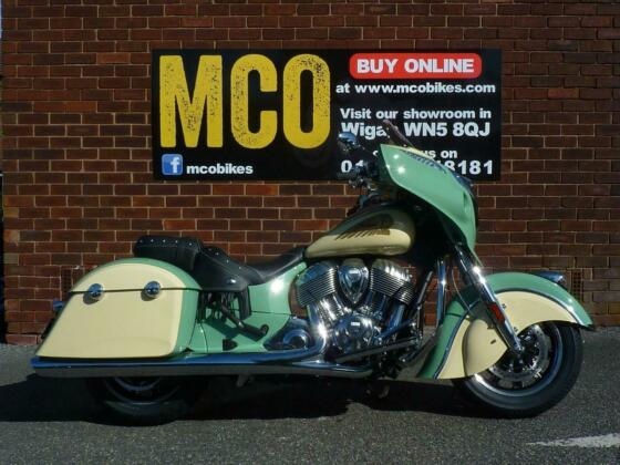 Indian Chieftain Classic Icon 2019/21 REG 0 miles