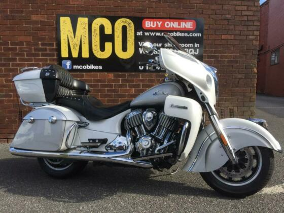 Indian Roadmaster 2018 with 10k miles