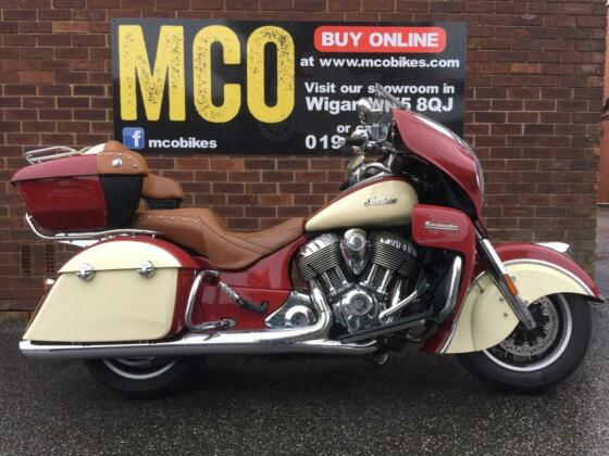 Indian Roadmaster 2016 in excellent condition