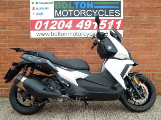 BMW C400 X SE WHITE AUTOMATIC 2018 SCOOTER WHITE AUTOMATIC