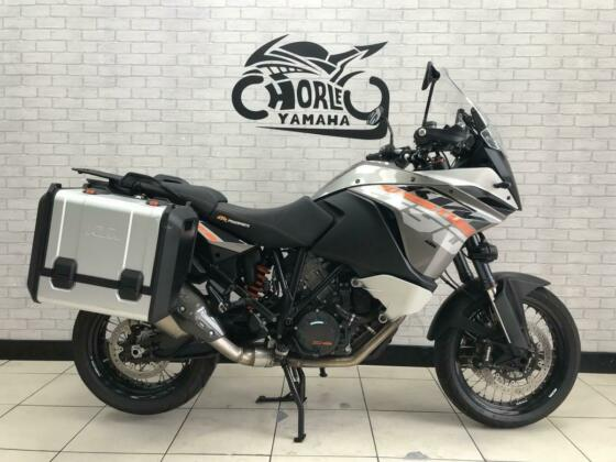 2013/63 plate KTM 1190 Adventure super tourer sports with luggage