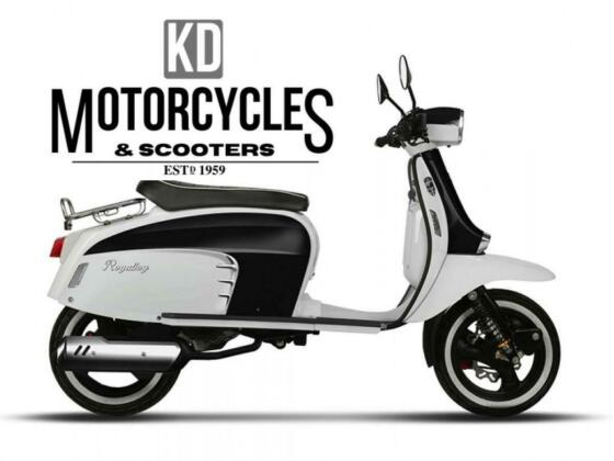 ROYAL ALLOY GT 125 AC 2020/71, CALL FOR BEST UK DEALS, IN STOCK