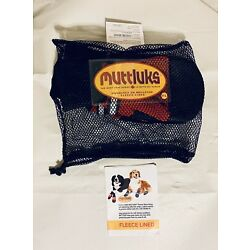 Muttluks Snow Mushers Dog Boots Size  XXL NEW Shoes Red & Black Fast Shipping