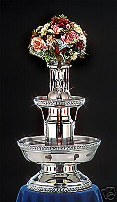 33 apex 5th avenue stainless steel champagne punch for Decor 5 5 litre drink fountain