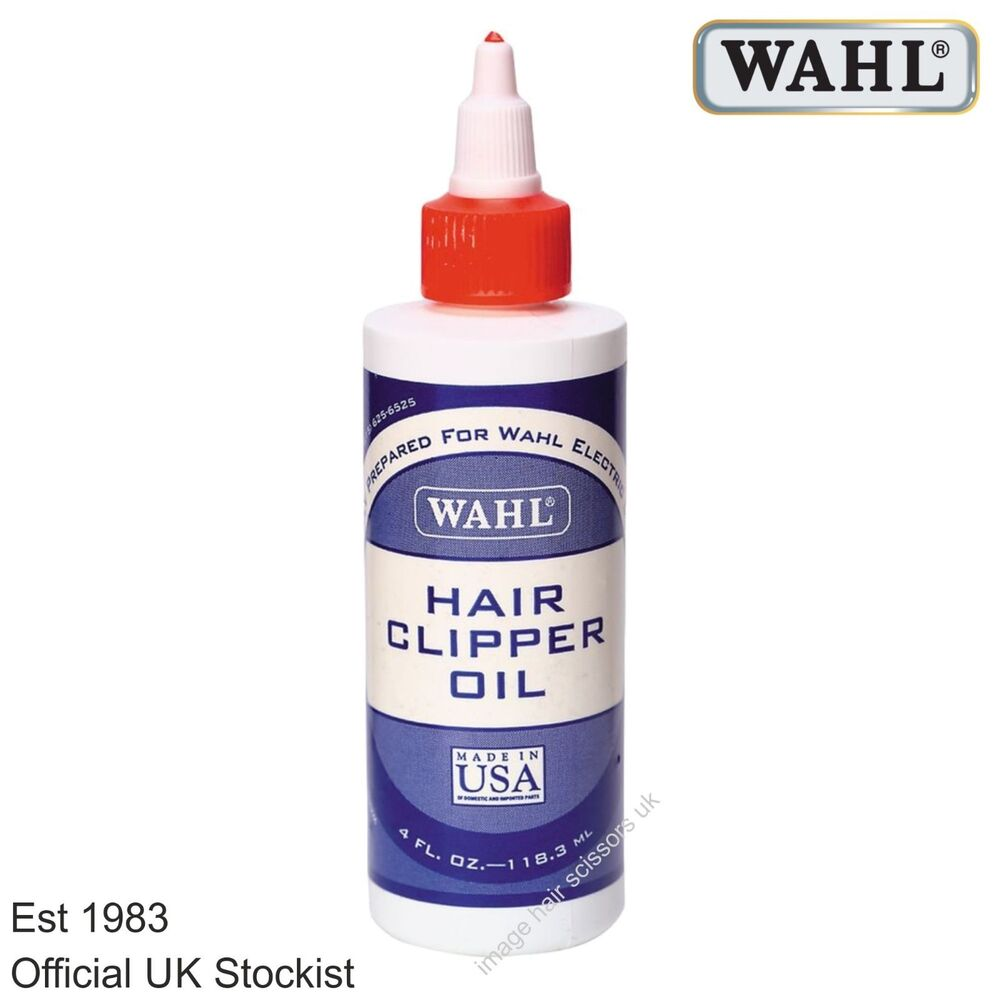 wahl hair clipper oil ideal for all types of clippers trimmers scissors ebay. Black Bedroom Furniture Sets. Home Design Ideas