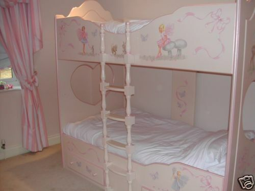 Chartley bunk beds girls fairies beautiful fairy bed ebay for Fairytale beds