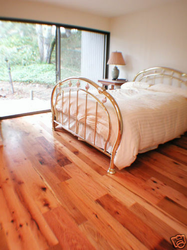 Flooring red oak wide plank solid 5 rustic victorian ebay for Rustic red oak flooring