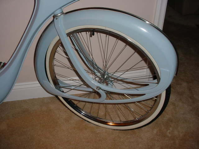Bowden Spacelander Bicycle Wheel Set Bicycle Heaven Museum Item
