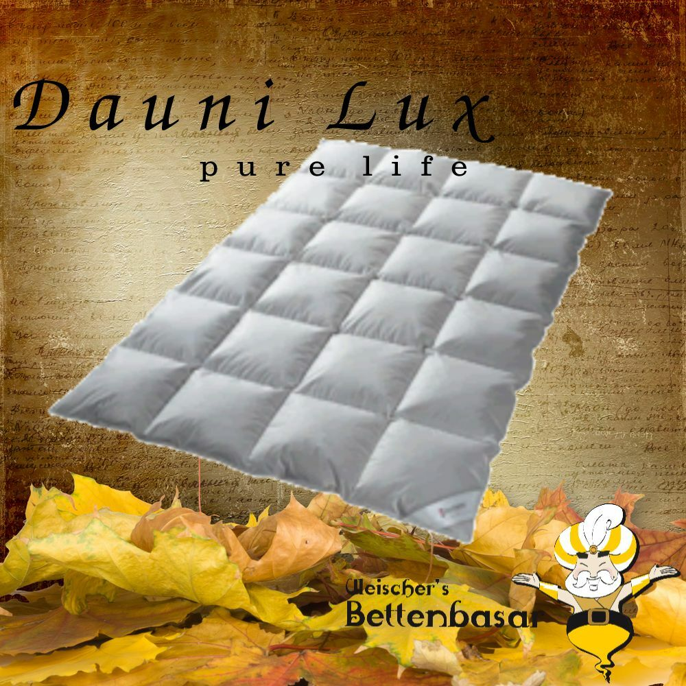 daunendecke 135 x 200 4 x 6 kassette 1000 gr daune winter daunenbett ebay. Black Bedroom Furniture Sets. Home Design Ideas
