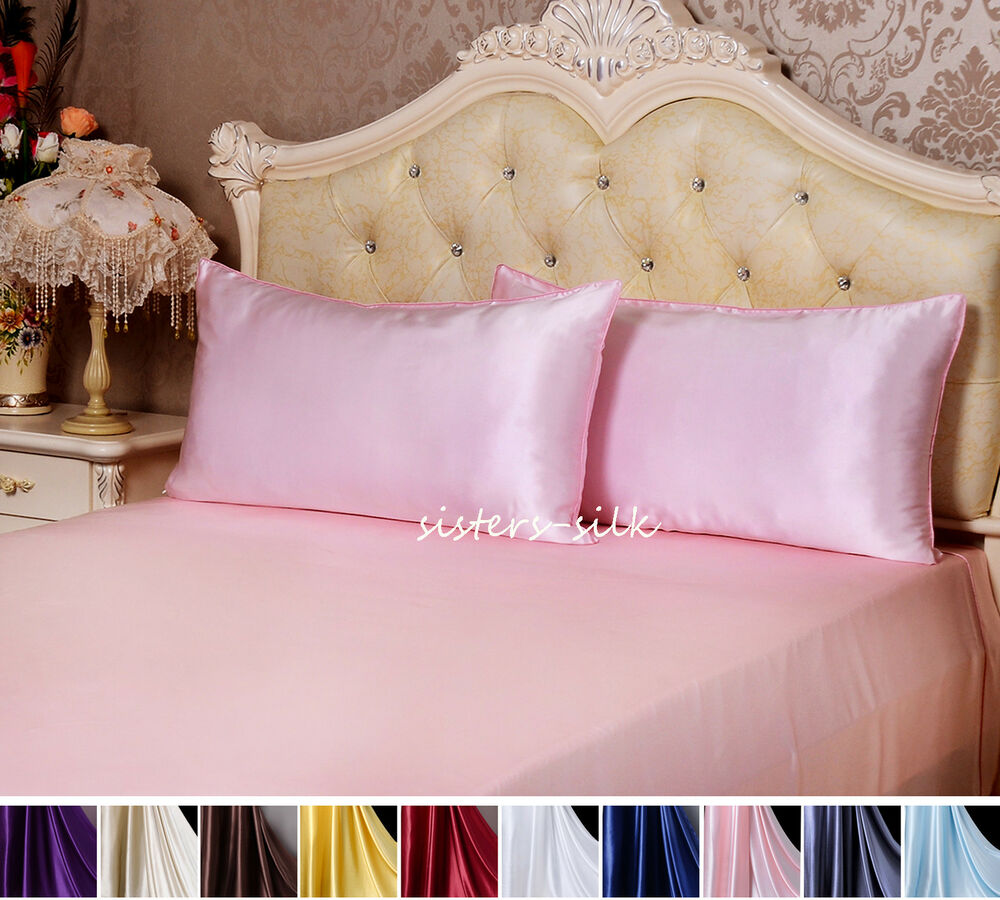 100 Silk Pillowcase 30mm Heavy Weight Silk Pillowcases