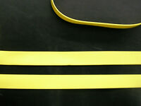 Latex Rubber Trim Strips .50mm Thick, 7mm x200cm,Yellow