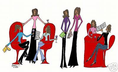 African American Diva Book Club note cards & envelopes | eBay