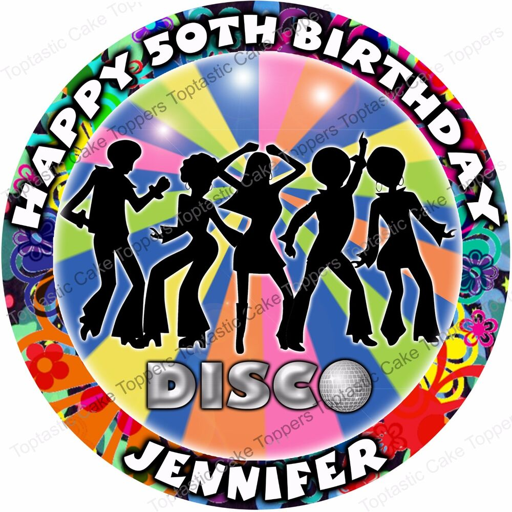 Disco Cake Toppers Uk