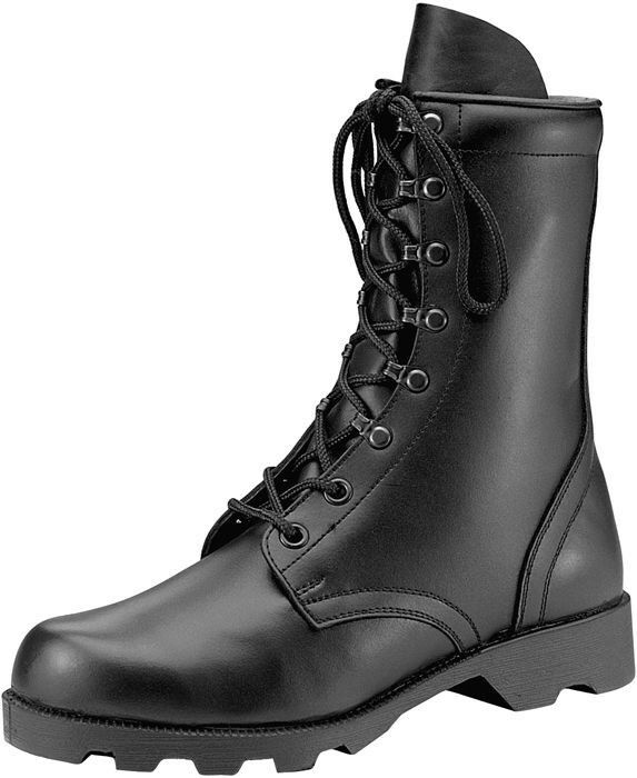 Black Leather Speedlace Military Combat Boots | eBay