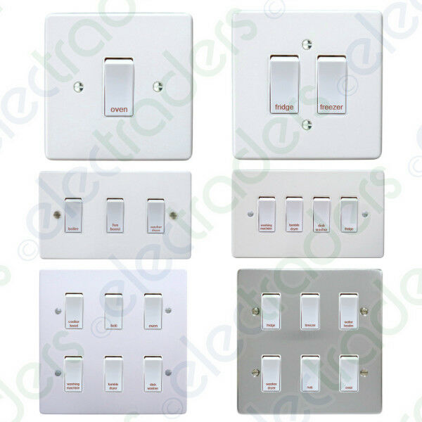 Crabtree Grid Switch Kitchen Multi Gang Switch Units Ebay