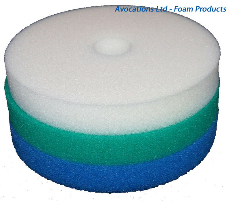 Hozelock bioforce 9000 pond sponge foam filter set x 2 ebay for Pond filter sponges