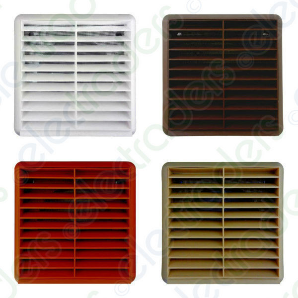 External Ventilation Grille 4 Quot 100mm Brown White Sand