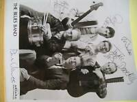 The Blues Band signed 10 x 8 photo, FREEPOST
