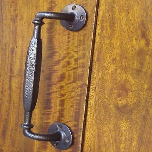 Handle Heavy Cast Iron Pull Black Front Door French