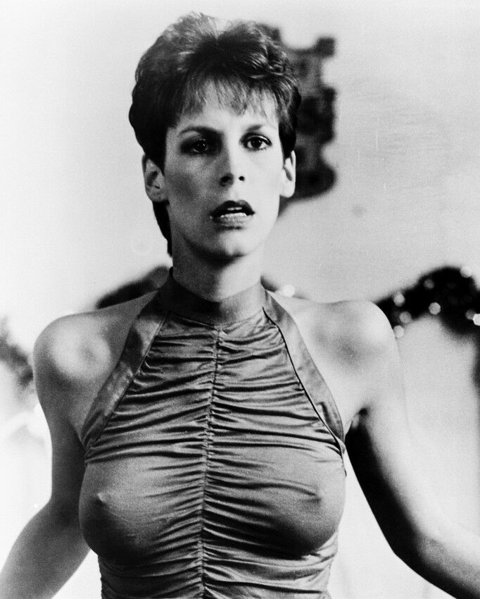 Trading places jamie lee curtis 8x10 photo busty figure hugging dress ebay - Jamie lee curtis thong ...