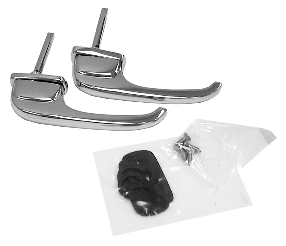Door handles exterior chrome 1947 1948 1949 1950 1951 for 1950 door handles