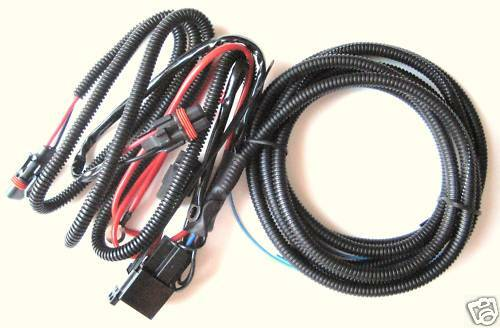 Mustang Cobra Front Fog Light Wiring Harness 01 To 04