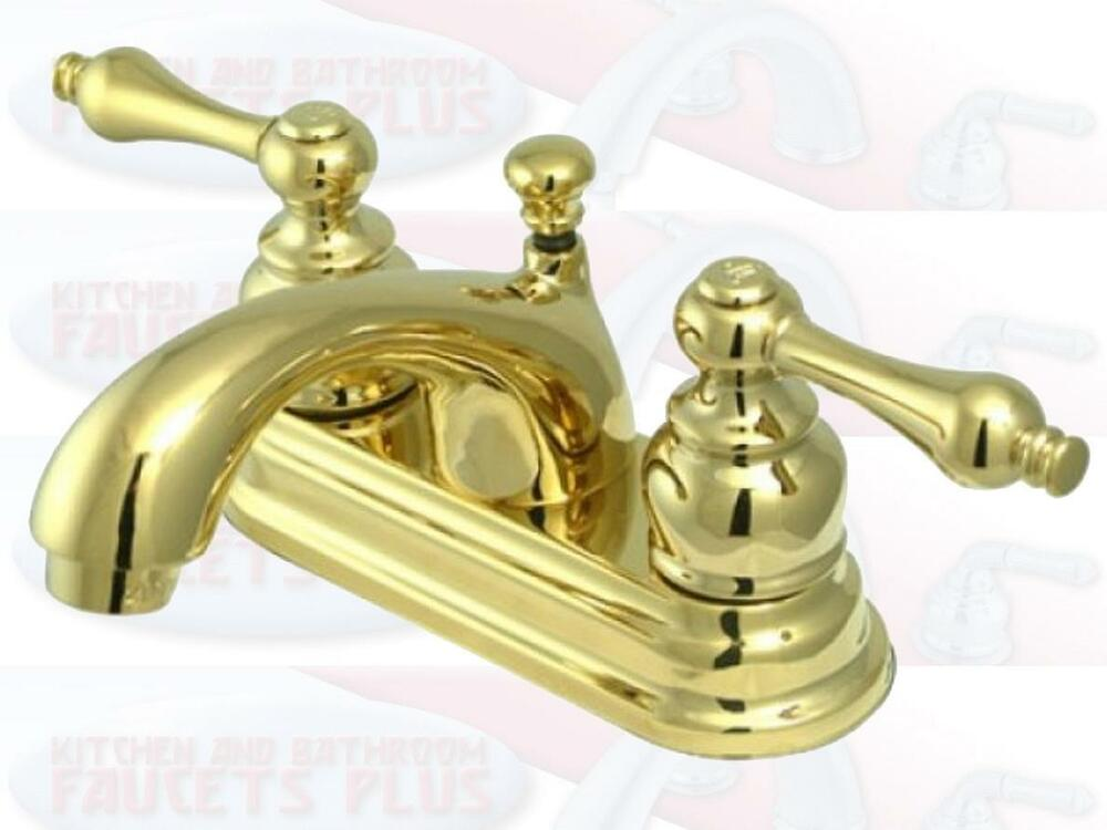 brushed brass bathroom fixtures polished brass bathroom sink faucet new kb2602al ebay 17538