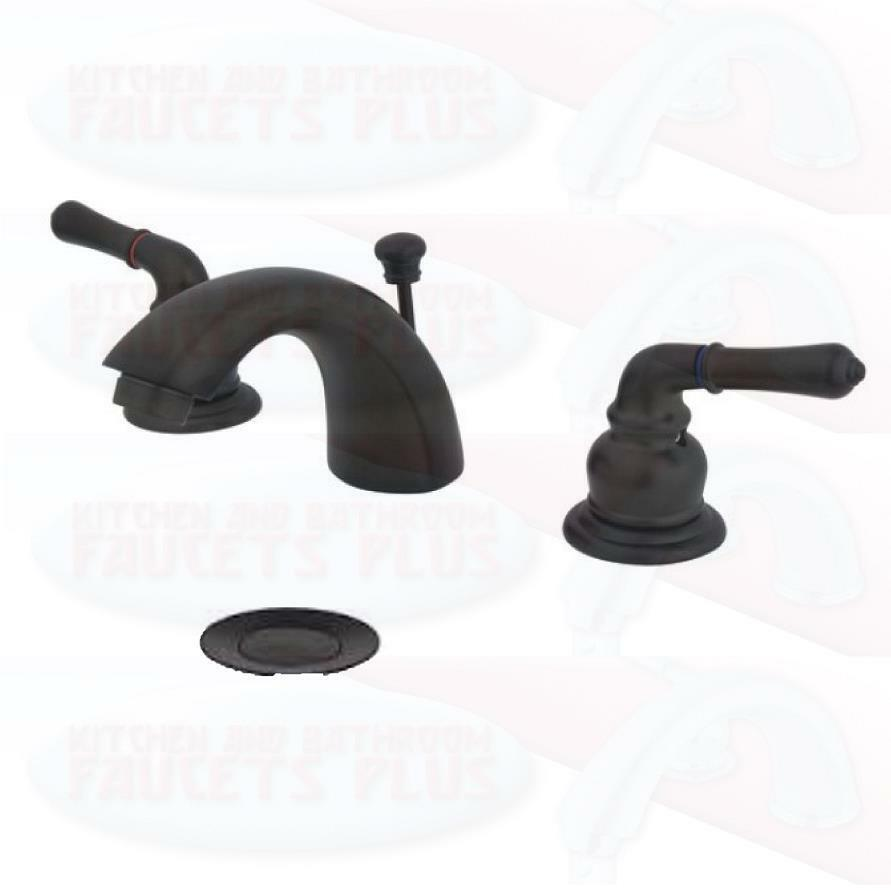 rubbed bronze bathroom sink faucet new kb955 ebay