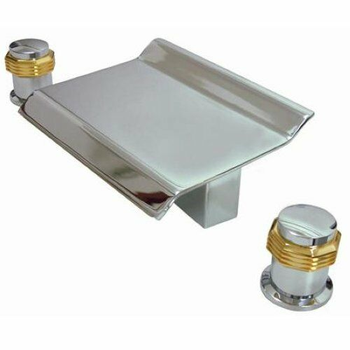 Kingston Chrome Brass Roman Tub Faucet Ks2244mr Ebay